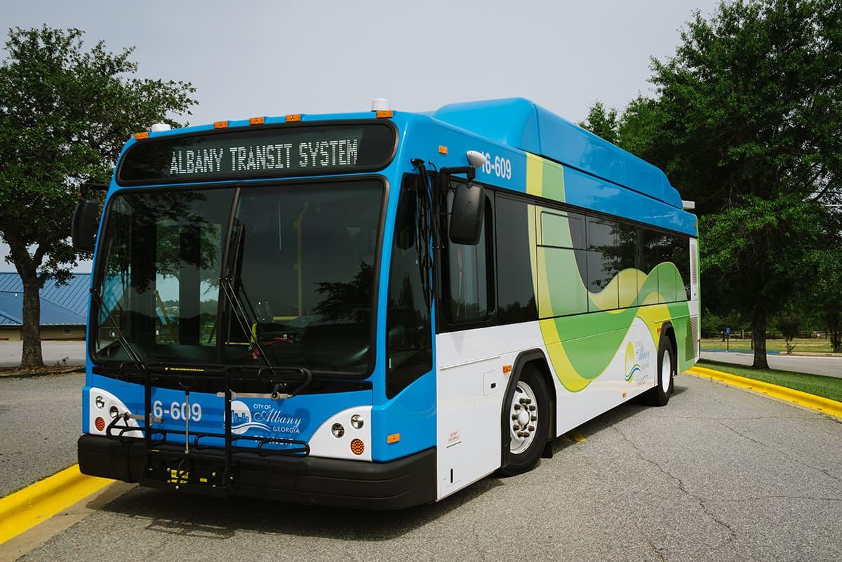 Albany Gerogia bus